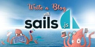 Write A Blog With Sails