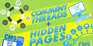 Comment Threads And Hidden Pages New Features For Cms On Sails