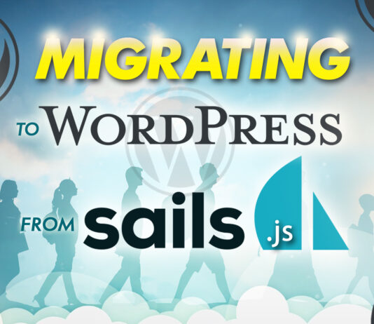 Migrating To Wordpress From Sails