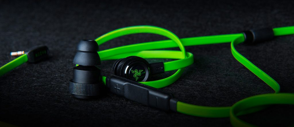 Razer Hammerhead Pro V2 Gaming Earbuds. These earbuds are very popular with gamers. Great headphones for playing games.