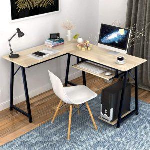 Alipc L Shaped Corner Computer Desk