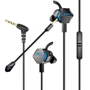 BENGOO MG-2 Gaming Earbuds with Dual Mic Deep Bass Vibration
