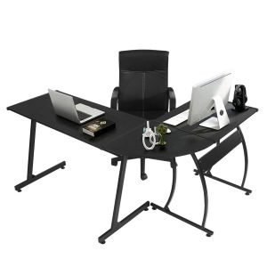 GreenForest L-Shape Corner Computer Office Desk
