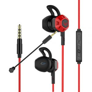 Wohzoek E-Sport Earbuds for Nintendo Switch, Xbox One, PS4, PC