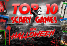 Top 10 Scary Games For Halloween