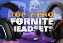 Best Fortnite Headsets Used by Pros