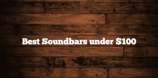 Best Soundbars under $100