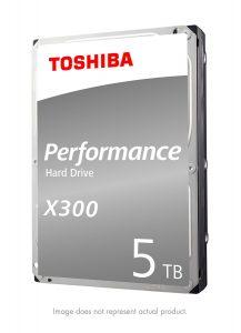 Toshiba X300 5TB Gaming Hard Drive