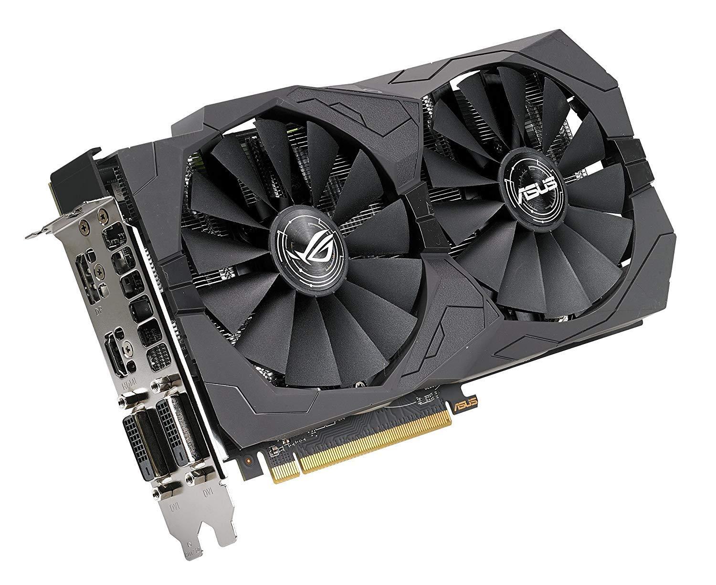 ASUS ROG Strix Radeon RX 570 Graphics Card