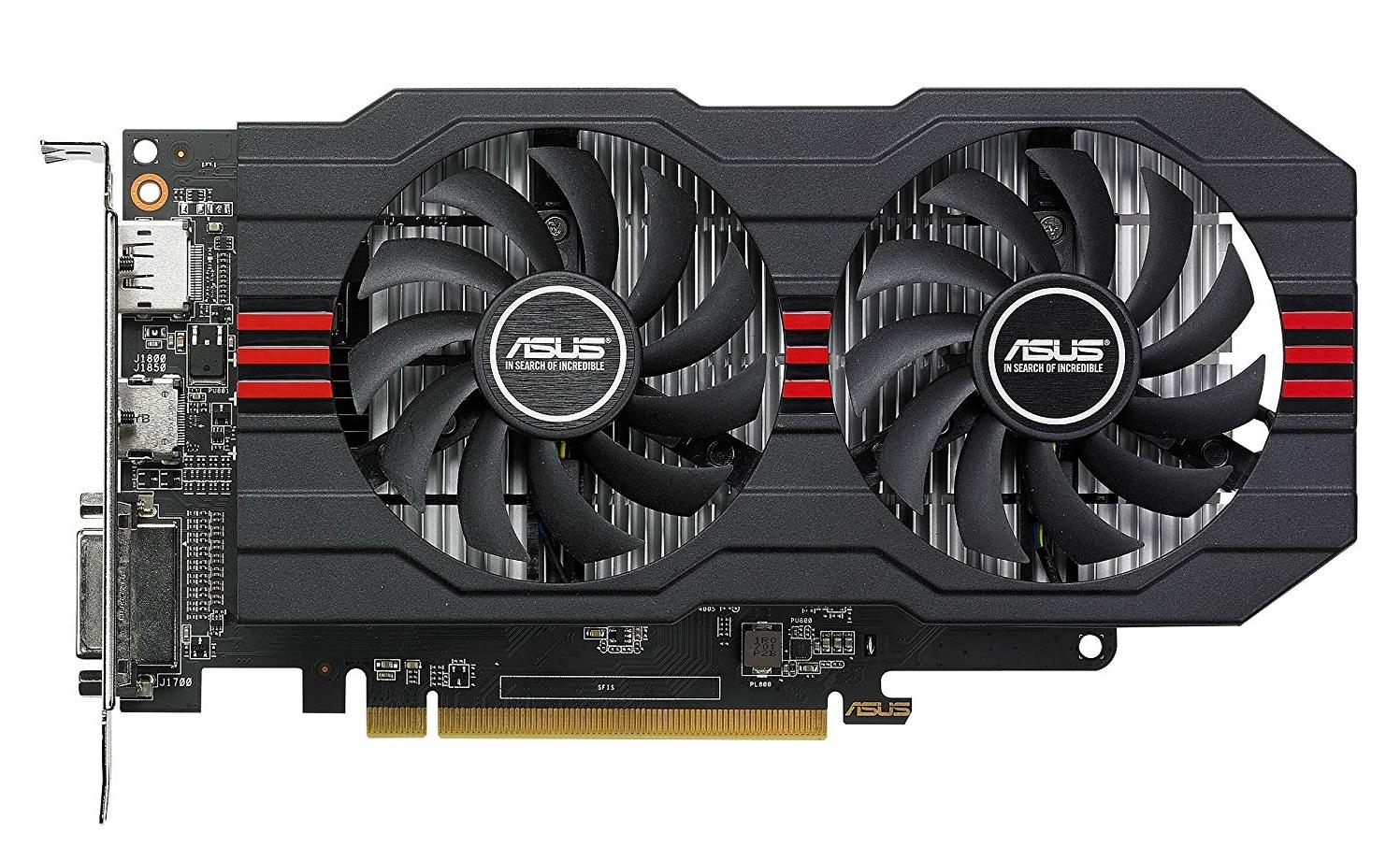 ASUS ROG Strix Radeon RX 560 Graphics Card