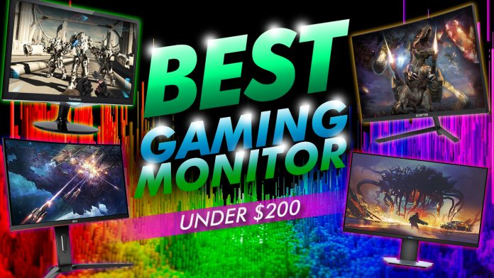 Best Gaming Monitor Under 200$