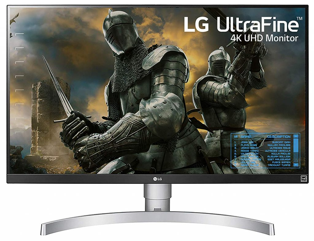 LG 27UK650-W 27 Inch 4K LED Monitor for Xbox One X