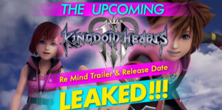The Upcoming Kingdom Hearts 3 Remind Trailer And Release Date –