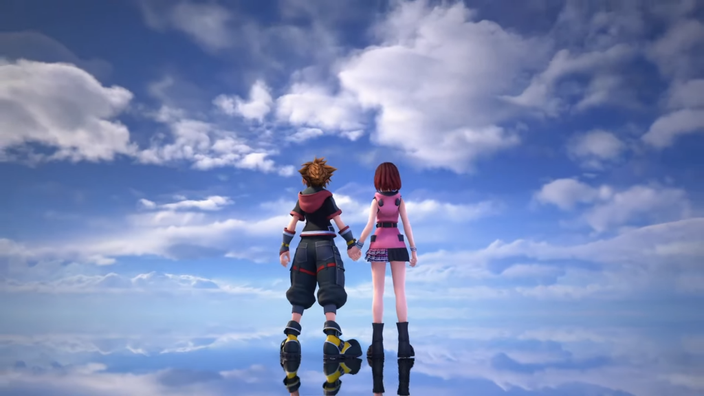 Sora and Kairi The Final World Kingdom Hearts 3 Remind Release Date Leaked