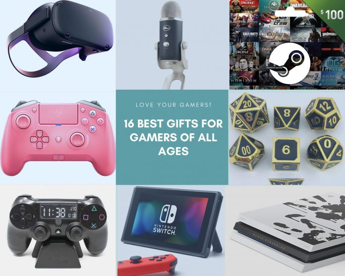 16 Best Gifts for Gamers of All Agesv1