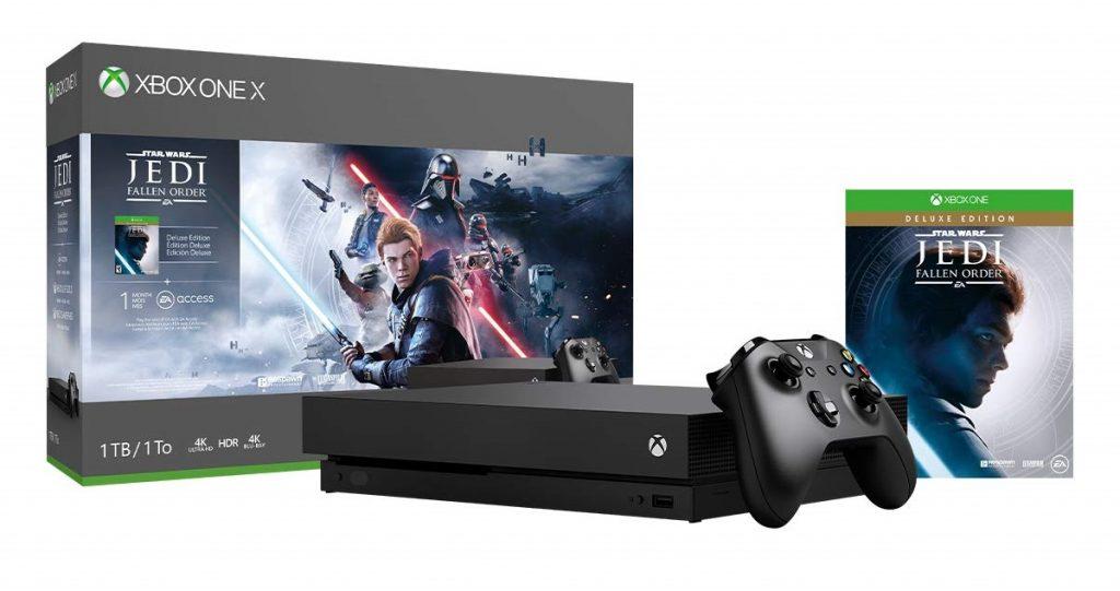 Xbox One X 1TB Console - Star Wars Jedi: Fallen Order Bundle