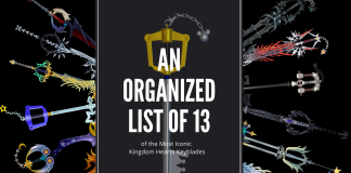 13 Iconic Kingdom Heart Keyblades
