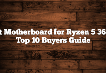 Best Motherboard for Ryzen 5 3600 – Top 10 Buyers Guide
