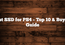 Best SSD for PS4 – Top 10 & Buyers Guide