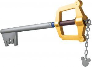 Full Size Replica Of Sora's Kingdom Key Keyblade