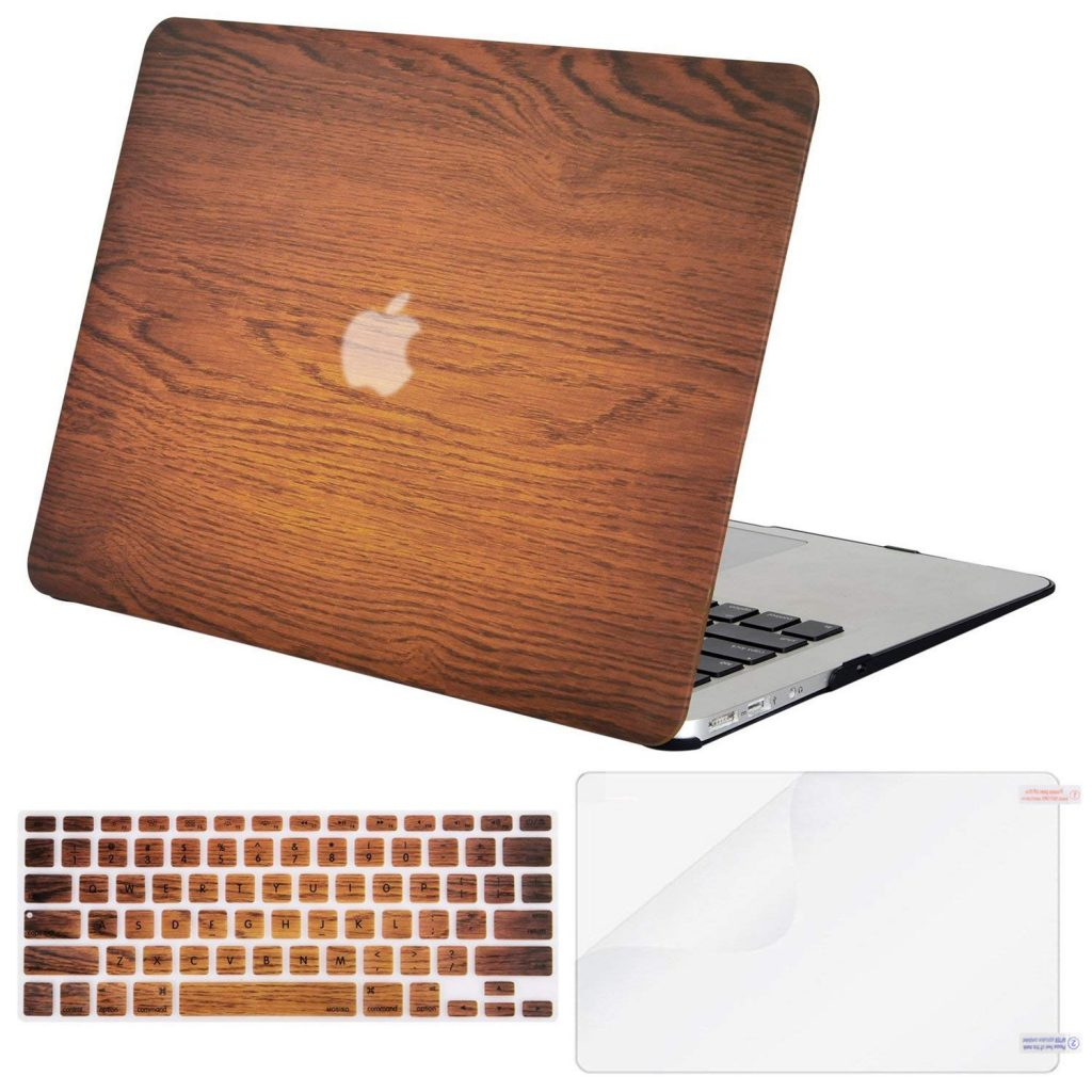 Mosiso Wood Macbook Air Case