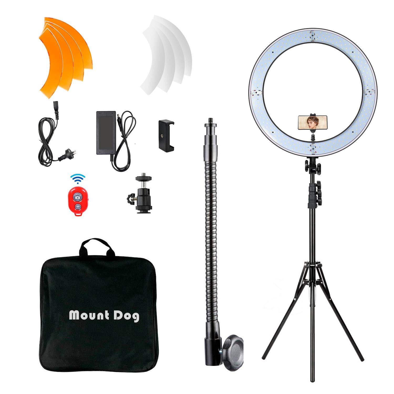 Mountdog Ring Light Kit for Makeup Streaming