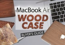 Macbook Air Wood Case