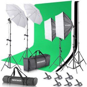 Neewer Photo Studio Photography Lighting Kit