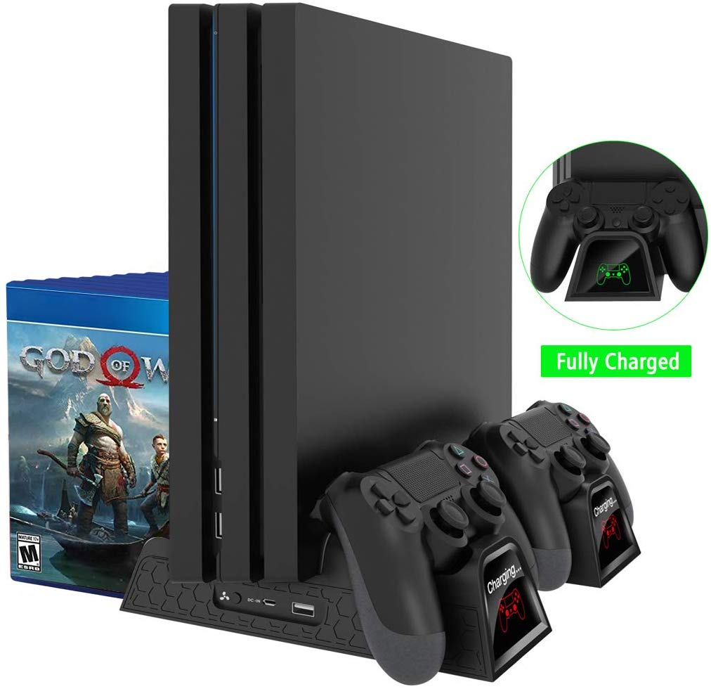 Oivo Ps4 Multifunctional Vertical Cooling Stand