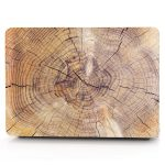 Papyhall Protective Macbook Air Wood Stump Case
