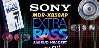 Sony Mdr Xb50ap Extra Bass Earbud Headset Review