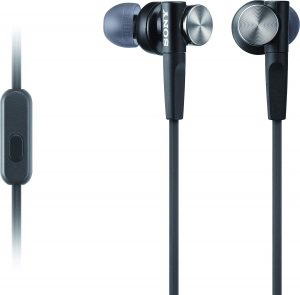 Sony Mdrxb50ap Extra Bass Earbud Headset (black)