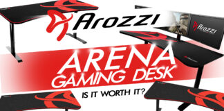 The Arozzi Arena Gaming Desk Review Is It Worth It