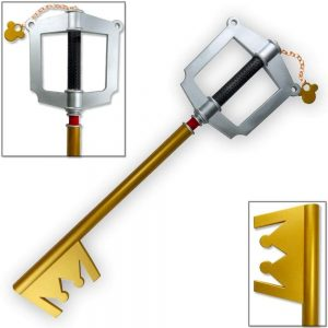 Toynk Kingdom Hearts Mickey Gold Keyblade