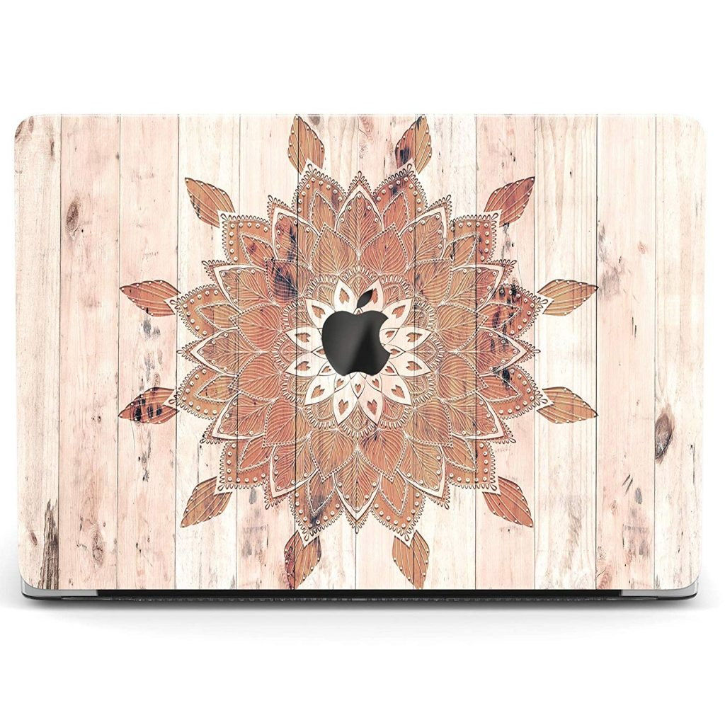 Wonder Wild Case Mandala Wooden Art Ornament