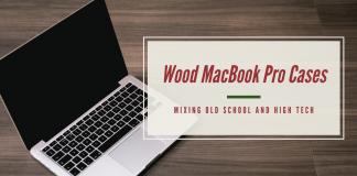 Wood Macbook Pro Cases