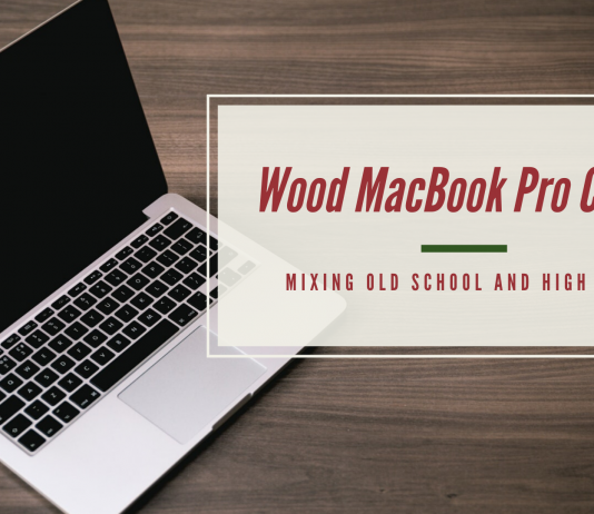 Wood Macbook Pro Cases