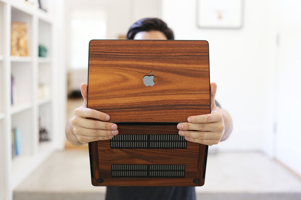 Alvin Industries Real Wooden Macbook Pro Case