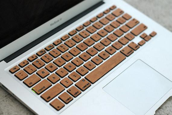 Touch Of Wood Keyboard Skins