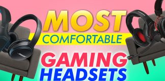 Most Comfortable Gaming Headsets