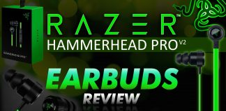The Razer Hammerhead Pro V2 Earbuds Review