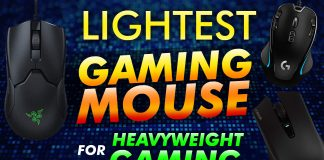 Lightest Gaming Mouse For Heavyweight Gamers
