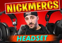 Nickmercs Headset