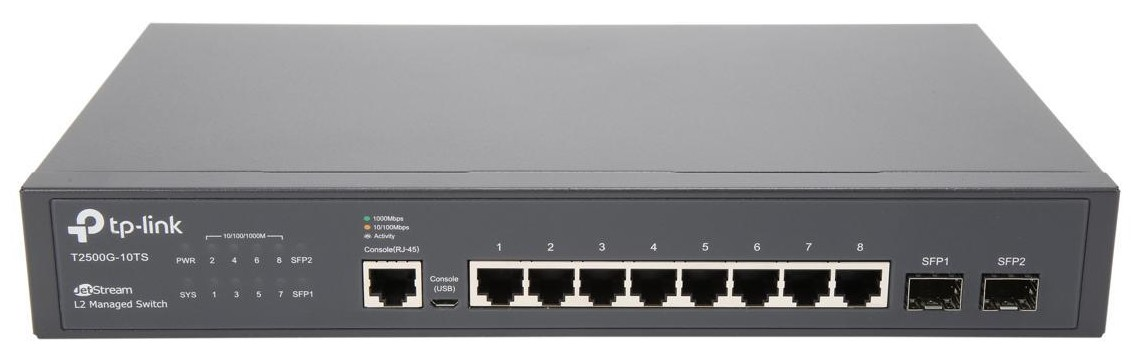 Tp Link Jetstream T2500g 10ts