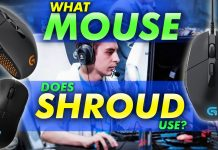 What Mouse Does Shroud Use
