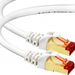 Cat7 Ethernet Cable 15 Ft Rj45 Connector