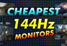 Cheapest 144hz Monitors