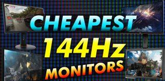 Cheapest 144hz Monitors