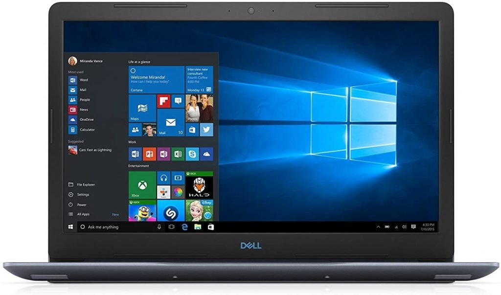 Dell G3 15.6 Inch Fhd Display Gaming Laptop