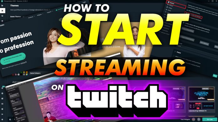 How To Start Streaming On Twitch